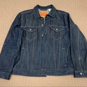 Men's Levi's Rigid Denim Trucker Jacket sz Large
